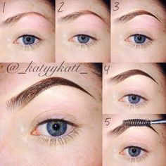 This pictorial features a step-by-step guide on how to create the perfect eyebrows. Check out the essentials you need for this look.