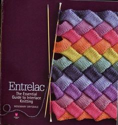 Entrelac! Holy cow! It's got the whole book on this site!