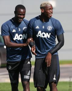 How Eric Bailly went from minder of a phone box to Manchester United The defender has fitted in well so far at United, making friends with players such as Paul Pogba Rio Ferdinand, Premier League Champions, Paul Pogba, Manchester United Football, English Premier League, Gareth Bale, Man United, One Team, Lionel Messi