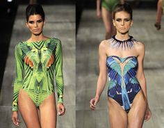 FASHION RIO Brazilian birds invade the runway summer 2012,By Andrei GoorgeousStrategically positioned, the paintings of Orleans-Braganza Lelli with species of fauna and flora have national time stamping in the collection of Peter Lawrence, breaking the mi photo 3