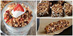 21 Healthy Granola Bar Recipes - How to Make Granola Bars