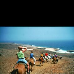 Horseback ride in Aruba