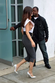 June 8: [More] Selena leaving Westwood One Studios in Los Angeles, California [HQs]