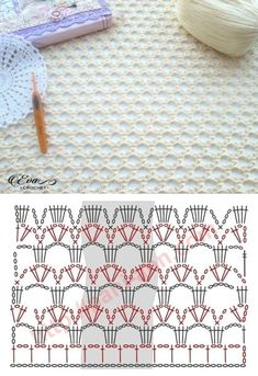 Good Photos Crochet Stitches chart Ideas While Daisy Town Projects is maintaining growth, I receive lots of email messages as well as questions about e. Crochet Stitches Chart, Crochet Motifs, Crochet Diagram, Love Crochet, Beautiful Crochet, Crochet Baby, Knitting Patterns, Crochet Patterns, Afghan Patterns