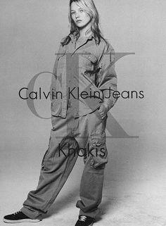 photoshoot photoshoot calvin klein jeans k - Kate Moss, Ck Calvin Klein, Calvin Klein Jeans, Sgt Slaughter, Brand Advertising, Fashion Advertising, Moss Fashion, My Calvins, Christy Turlington