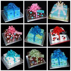 How to make Fondant Gift Bow Cakes Fondant Bow, Fondant Cakes, Cupcakes, Cupcake Cakes, Sweets Cake, Bow Cakes, Zebra Cakes, 21st Birthday Cakes, Birthday Ideas