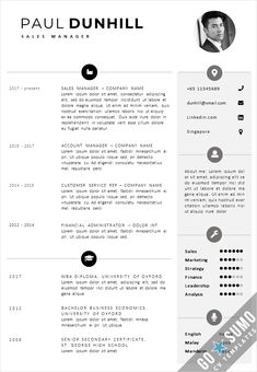 Professional sales CV Template. Fully editable and reusable Word and PowerPoint files. Matching Cover letter template included. Instant download delivery, get started now! Creative Cv Template, Cv Design Template, Resume Templates, Curriculum Vitae Resume, Resume Cv, Cover Letter Template, Sumo, Knowledge, Delivery