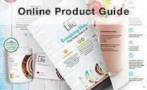 Online Product Guide.  Welcome!
