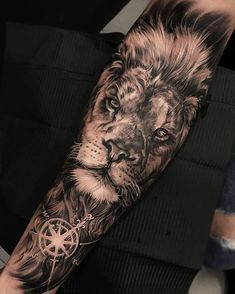 Selection of the right Angel Wings tattoo design Tattoos for women - 90 tig . - Selection of the right Angel Wings tattoo design Tattoos for women – 90 tiger and lion tattoos th - Wolf Tattoos, Lion Forearm Tattoos, Lion Head Tattoos, Animal Tattoos, Leg Tattoos, Body Art Tattoos, Sleeve Tattoos, Lion Leg Tattoo, Verse Tattoos