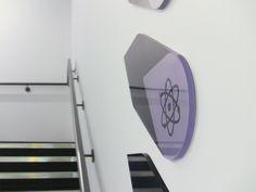 MCA Wayfinding Signage by Influence Design , via Behance
