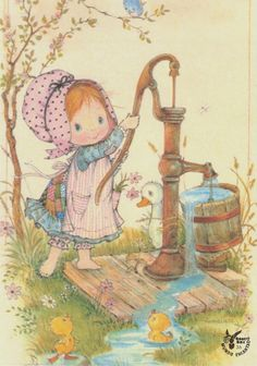 Hobby Noiva E Madrinhas Molde - Hobby Ideas Money - - - Weird Hobby Ideas Holly Hobbie, Vintage Cards, Vintage Postcards, Cute Images, Cute Pictures, Sarah Key, Hobbies For Kids, Cute Illustration, Illustration Pictures