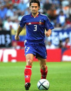 Bixente Lizarazu of France at Euro 2004.