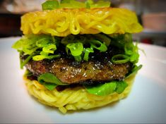 Not so very long ago, at a food market in Brooklyn, a very special burger was born.   How To Make A Ramen Burger