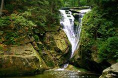 Karkonosze,Poland  wodospad szklarki