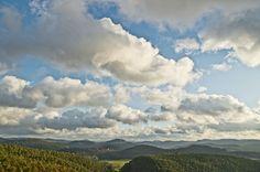 Aussicht vom Römerfels bei Dahn - View from the top of the Römerfels (Romans rock) close to Dahn