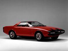 Alfa-Romeo Alfetta Spider Concept (Pininfarina) (1972)