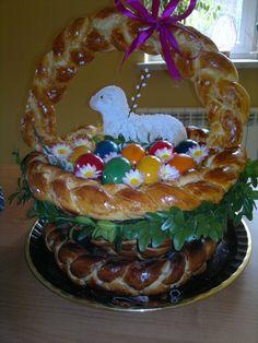Koszyk z ciasta