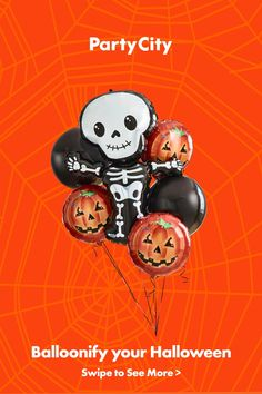 Shop now for Halloween party balloons at Party City.   #partycity #halloween #halloweendecorations #spookyseason #halloweenpartyideas #halloweenballoons Halloween Balloons, Halloween 4, Halloween Decorations, Halloween Costumes, Balloon Arch, 9th Birthday, Graffiti, Classroom Door, Door Ideas