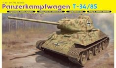 (48.00$)  Watch now - http://aiby2.worlditems.win/all/product.php?id=32260136040 - Dragon 1/35 Scale Panzerkampfwagen T-34/85 Kit No. 6759