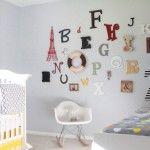 The ABCs of nursery decor: Fun with alphabet themes