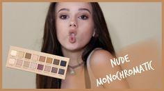 Cool NUDE MONOCHROMATIC MAKEUP TUTORIAL // annika osterlund Nyx Born To Glow, Monochromatic Makeup, Lorac Pro Palette, Tarte Shape Tape, Photo Focus, Blood Vessels, Best Makeup Products, Foundation