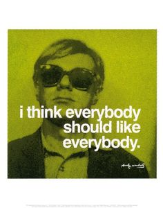 Everybody Print by Andy Warhol at Art.com - StyleSays