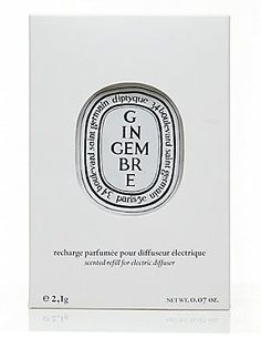 Diptyque Ginger Electric Diffuser Refill/0.07 oz. - No Color