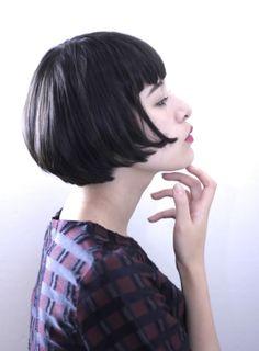【ボブ】切りっぱなしボブ/BEAUTRIUM 梅田の髪型・ヘアスタイル・ヘアカタログ|2016秋冬