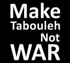 Barbara's Lebanese Mezze: Tabbouleh. A terrific, authentic, real, honest, clear tabbouleh recipe. Do it.