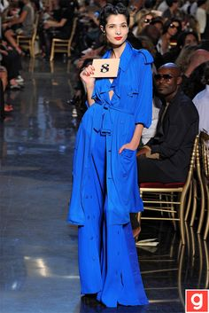 A Blue Trench dress...... classic!