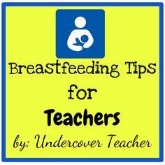 Undercover Teacher: Breastfeeding Tips for Teachers End Of School Year, School Fun, School Ideas, Classroom Fun, Classroom Activities, Guided Reading Lessons, Math Lessons, First Year Teachers, Kindergarten Teachers