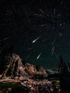 Chuva de meteoros...