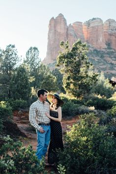 Jane in the Woods || Sedona Wedding Photographer || Sedona Engagement Photos in the Red Rocks at Soldier's Pass