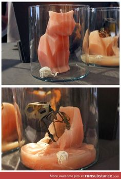 Coolest halloween candle