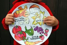 nutrition plates for kids