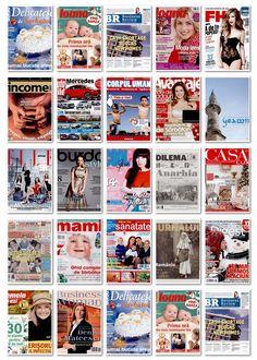 2012.11.29 - coperti editii noi reviste romanesti si internationale