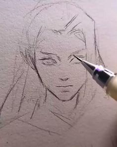 Art Drawings Sketches Simple, Pencil Art Drawings, Drawing Face Shapes, Arte Sketchbook, Digital Art Tutorial, Image Manga, Human Art, Art Reference Poses, Drawing Techniques