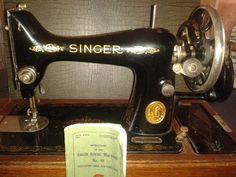 Singer 99 handcrank