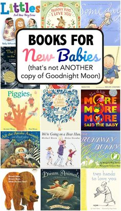 Looking for the perfect baby shower book that isn't ANOTHER copy of Goodnight Moon? Try one of these best books for a baby shower!