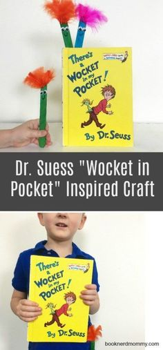 "Dr Seuss ""Wocket in Pocket"" Inspired Craft · Book Nerd Mommy"