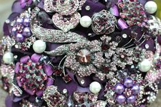 ;'Heirloom Bridal Brooch Bouquets by Noaki - The Beading Gem's Journal