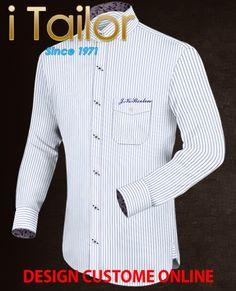Design Custom Shirt 3D $19.95 maßhemden günstig Click http://itailor.de/shirt-product/masshemden-günstig_it740-1.html