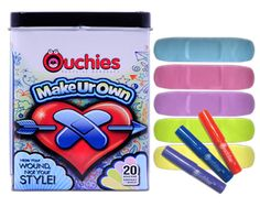 My kids would love this - design your own band-aids!