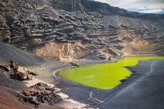 La lagune verte à Lanzarote : L'Espagne comme vous ne l'avez jamais vue - Linternaute
