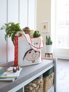 Make life a little easier and a lot greener with a reusable shopping bag. Personalize yours at Shutterfly.