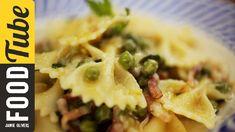 Pancetta, Pea & Mint Farfalle   Gennaro Contaldo