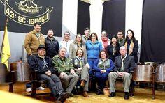 Grupo Escoteiro Iguaçu 43º SC Porto União: Visita da Diretoria UEB-SC