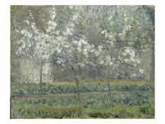 Giclee Print: Floral & Botanical Art Print by Camille Pissarro by Camille Pissarro : Camille Pissarro, Art For Sale Online, Beach Landscape, Large Art, Worlds Of Fun, Botanical Art, Les Oeuvres, Find Art, Giclee Print