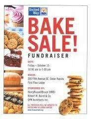 Bake Sale Fundraiser - Free Flyer Template by Hloom.com | Bake ...