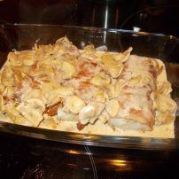 Dit recept heb ik nu al 2x gemaakt met kabeljauwhaasjes. Dat is het dikke stuk van de kabeljauw. Je kunt dit recept natuurlijk ook met een andere witvis maken....